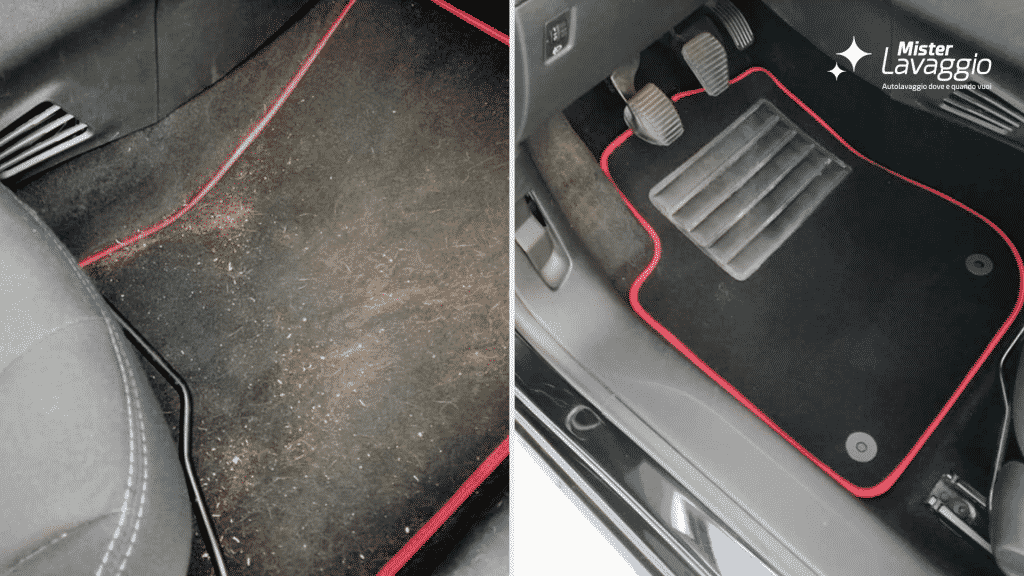 Mister Lavaggio - Tappezzeria, Sanificazione, Igienizzazione interni auto - lavaggio a secco