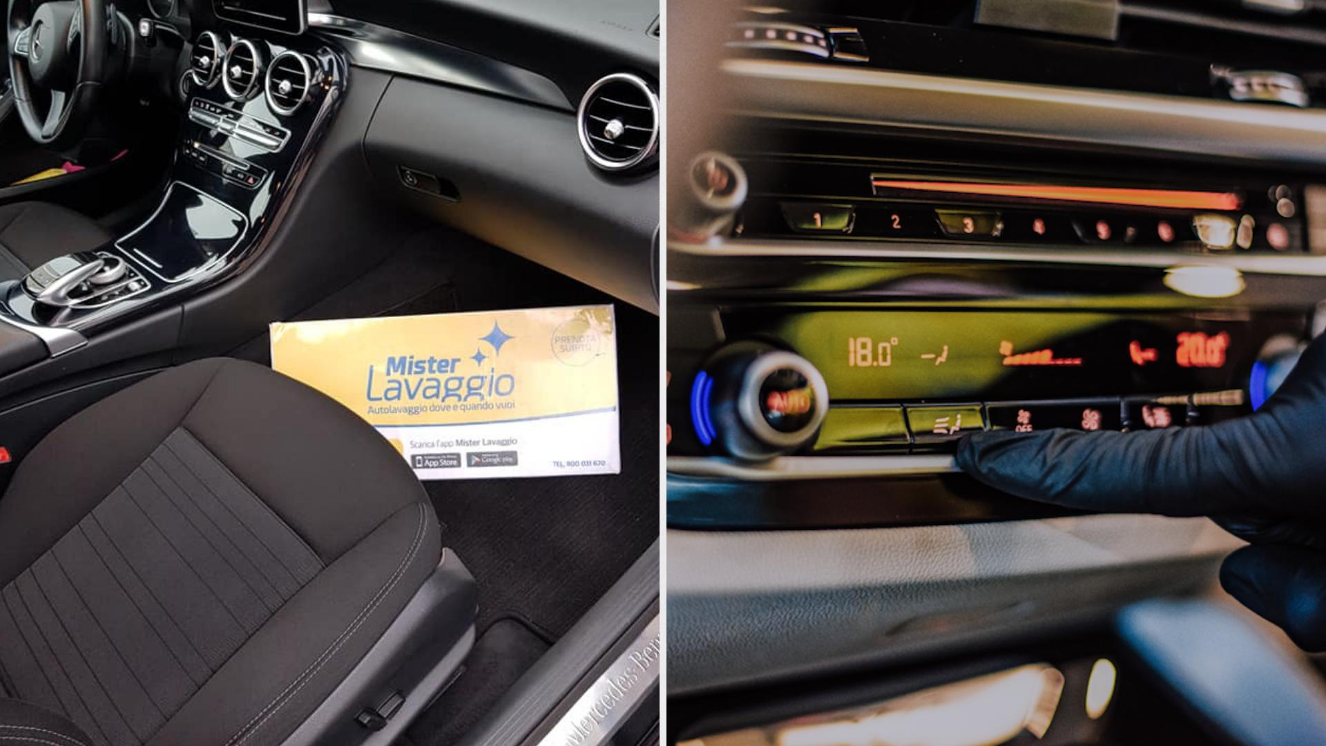 Mister Lavaggio – Tappezzeria, Sanificazione, Igienizzazione interni auto – lavaggio a secco