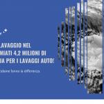 Giornata Mondiale dell'Acqua: basta sprechi per i lavaggi auto