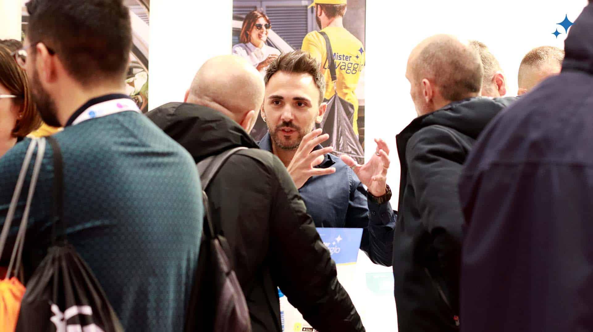 Mister Lavaggio Salone del Franchising Milano 2019