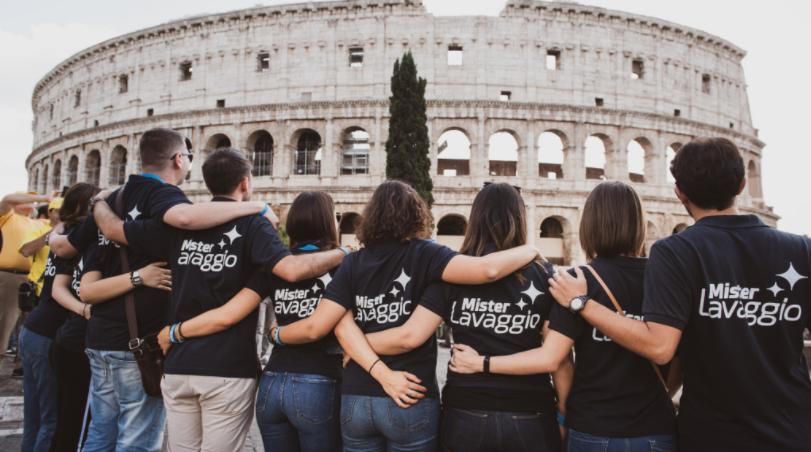 Team Mister Lavaggio a Roma