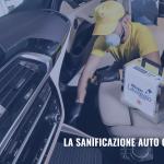 La sanificazione auto ad ozono