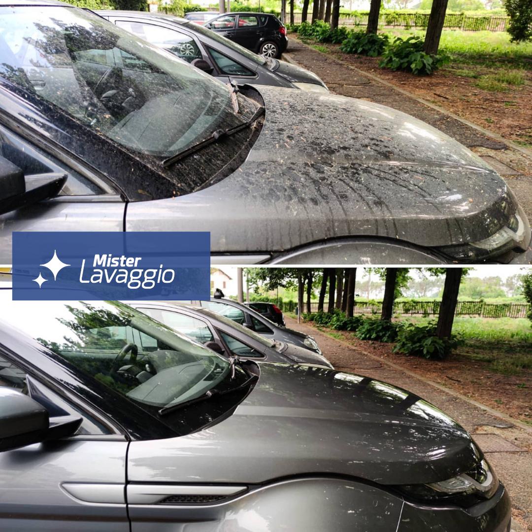 Mister Lavaggio - Prima e dopo